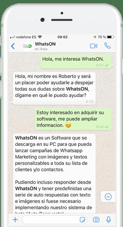 Automatiza con Whatsapp